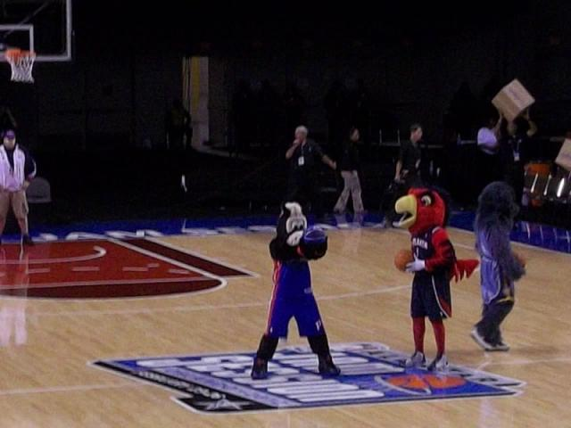 NBA All Star Games Mascot World Record